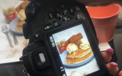 The Perfect Stack: Pancake Day photoshoot for Equi's Ice Cream