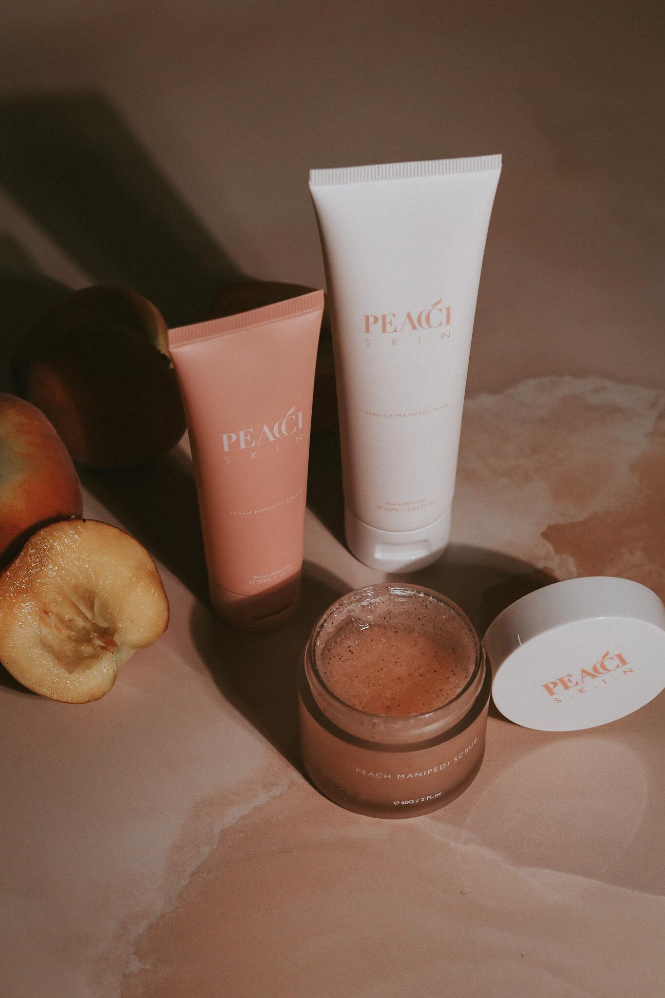 Skincare beauty product photography scotland glasgow studio shoot styling art direction Peachy Creative Media